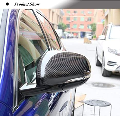 Carbon Fiber Mirror Cover Cap Replaced For Jaguar XE XEL XF XFL XJ XK Factory