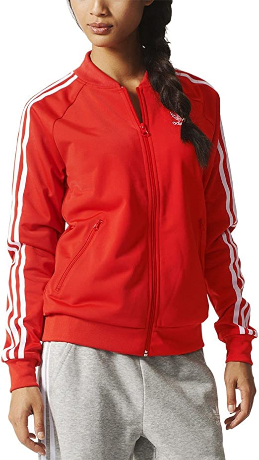 adidas Originals Damen E Supergirl Track Top Trainingsjacke