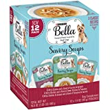 Purina Bella Savory Soups Classic Recipes Adult Wet Dog Food Complement