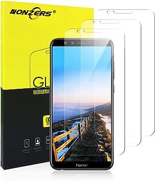 NONZERS 3-Unidades Protector de Pantalla para Huawei Honor 9 Lite ...