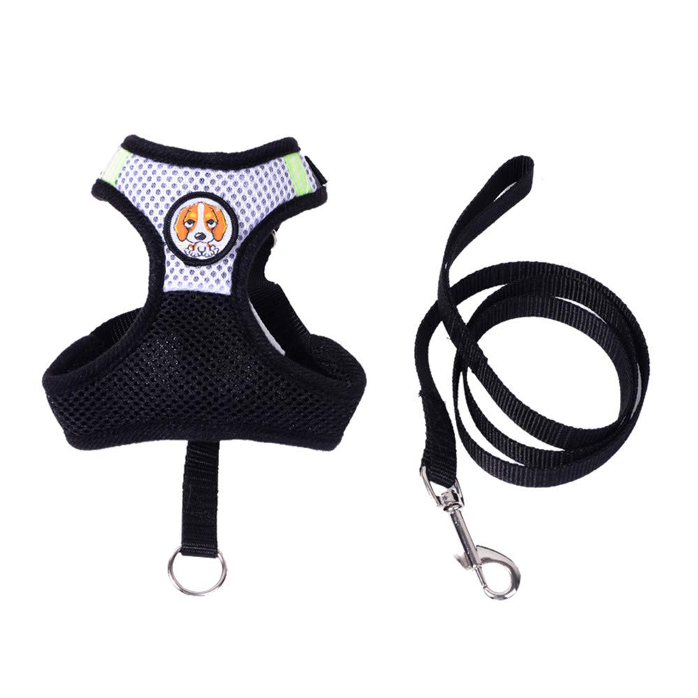 wouke Soft Mesh Dog Harness Pet Walking Vest Puppy Padded Harnesses Adjustable