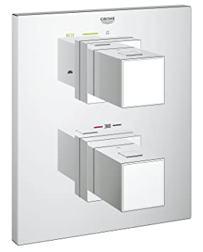 e95e6d9ebac00 GROHE Façade pour Mitigeur Bain Douche Grohtherm Cube 19958000 (Import  Allemagne)