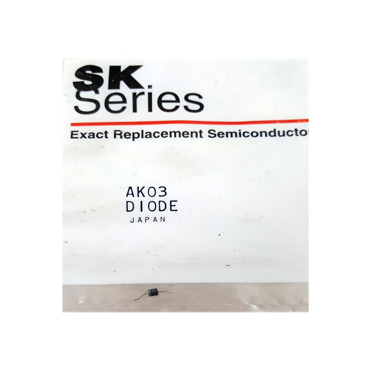 SK Series VCR Replacement Part Diode No. AK03