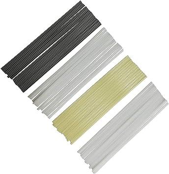 50pcs Plastic Welding Rods ABS//PP//PVC//PE Welding Sticks For Plastic Gun Welder