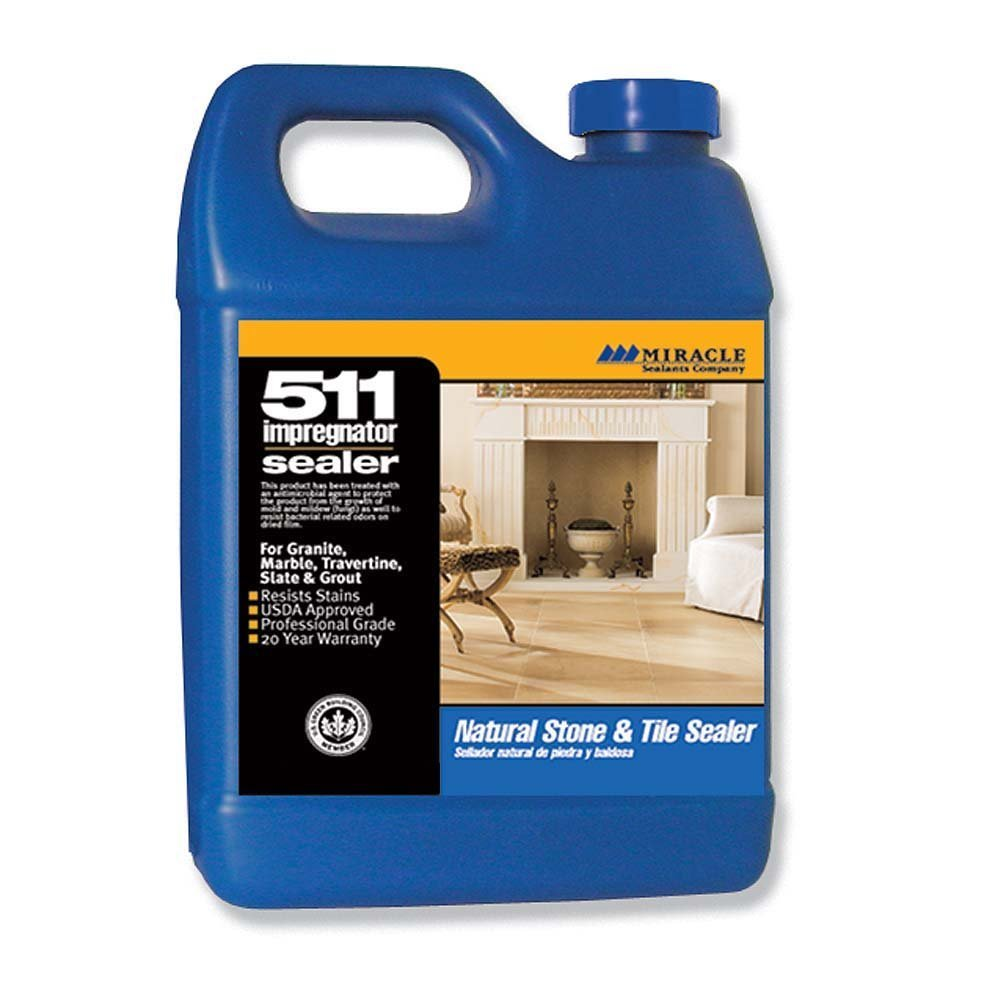 Miracle Sealants 511 QT SG 511 Impregnator Penetrating Sealer, Quart (2 Quart pack) by Miracle Sealants (Image #1)