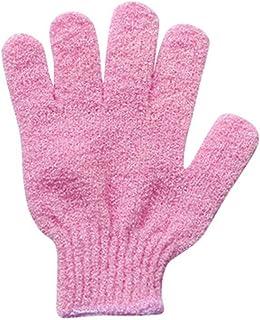 YJYdada 2Pair Bath Scrub mitt Gloves Massage Scrubber Shower wash Skin Spa Shower Tool (Green)