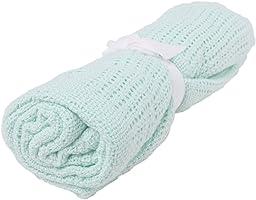 Niuniu Daddy Cellular Baby Blanket (Mint Green)
