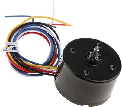 12 V Dc Motor 3000 Rpm Con Controlador De Motor Sin