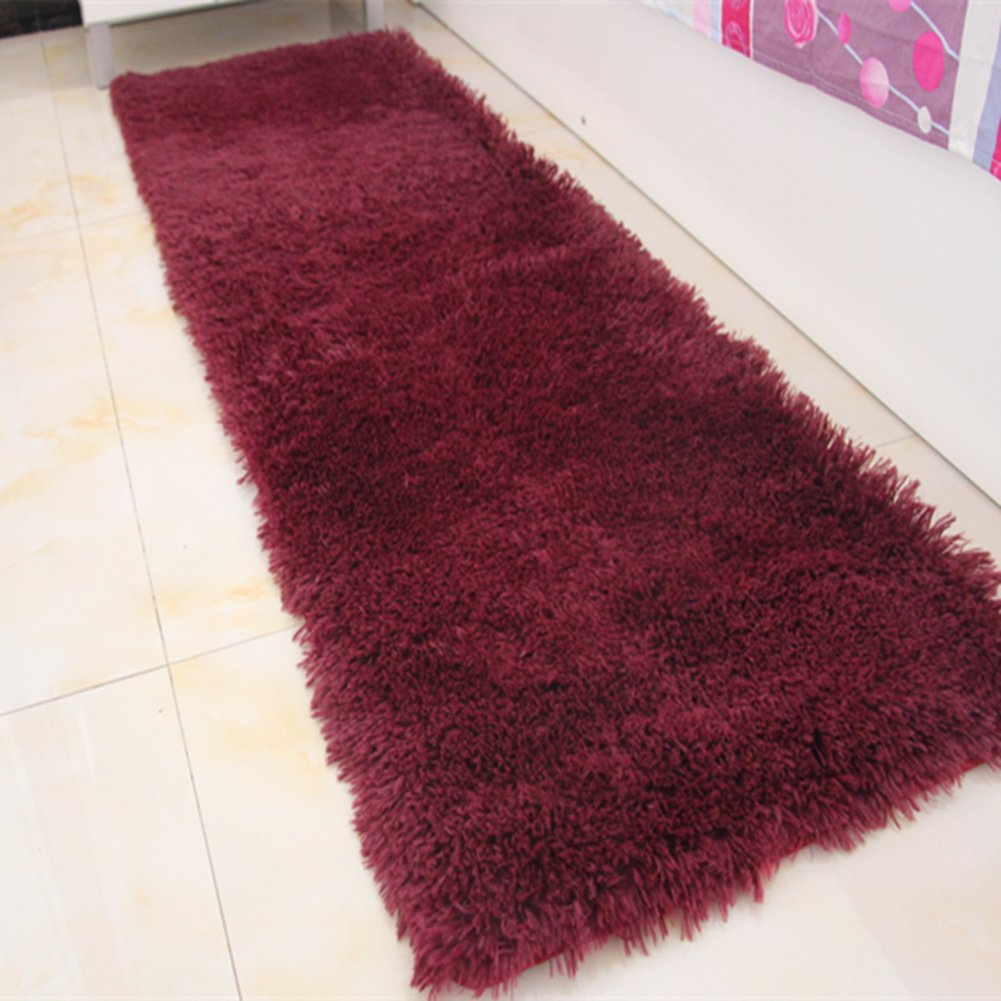 Door mat,Gate pad,Rug,Could be washed by water,Thicken,Long cashmere,Hair mats,Bedroom,[bedside],Bay window mats,Balconies mats-M 160x230cm(63x91inch)160x230cm(63x91inch)