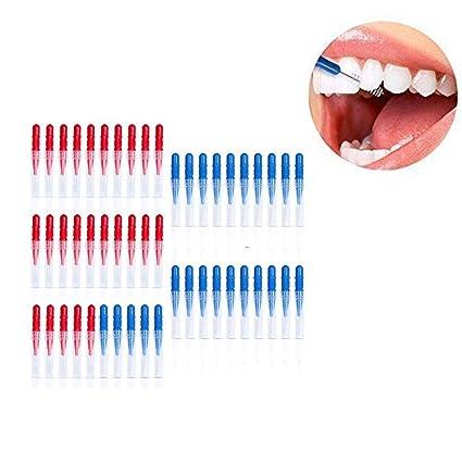 QIANGGAO Cepillo interdental, Cepillo Dental de higiene ...
