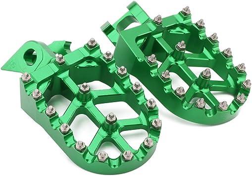 1997 1998 1999 2000 2001 Footpegs Pegs Footrest Kawasaki KX 125 250 KX125 KX250