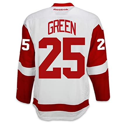 0e8642d12a3 Amazon.com   Reebok Mike Green Detroit Red Wings Road Jersey ...