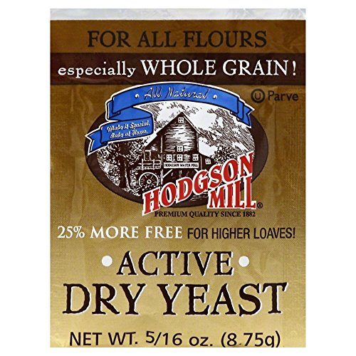 Hodgson Mill Active Dry Yeast 8.75 CT(Pack of (Best Hodgson Mill Yeasts)