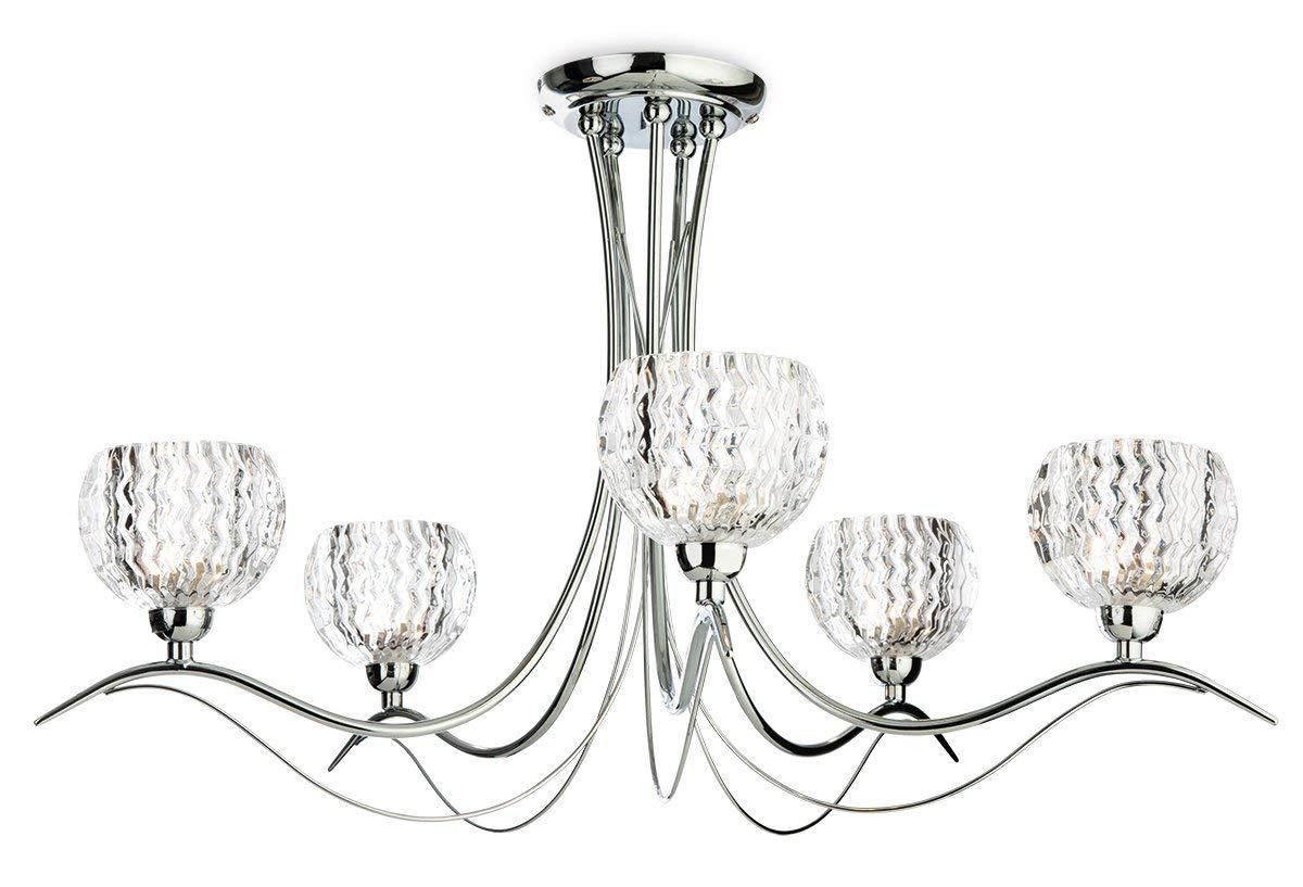 First Light Products - Lámpara de techo (G9, 33 W, 5 ...