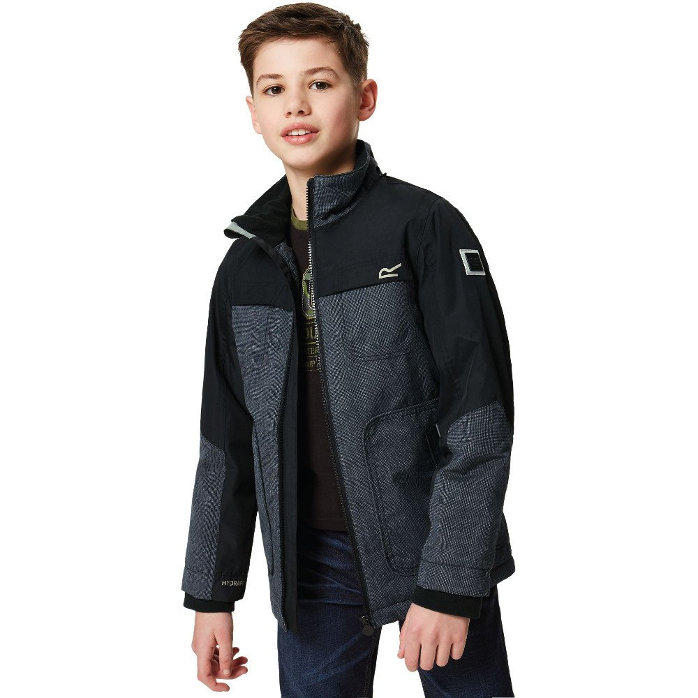 Regatta Kashton Waterproof and Breathable Insulated Hooded Chaqueta, Bebé-Niños RKP193