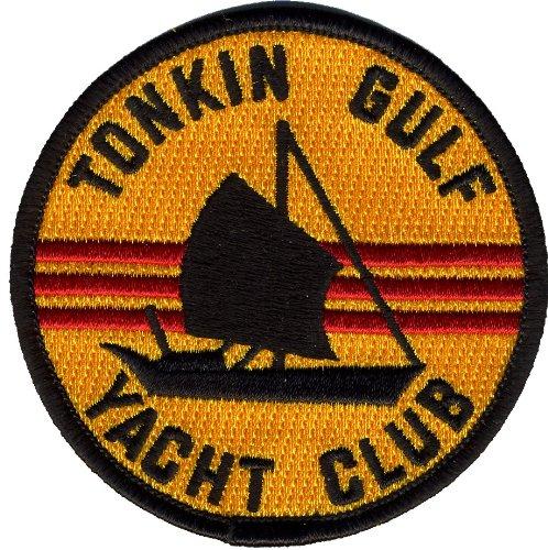 """Navy Tonkin Gulf Yacht Club 3"""" Military Patch"""