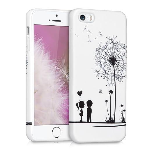 170 opinioni per kwmobile Cover per Apple iPhone SE / 5 / 5S- Custodia in silicone TPU- Back case