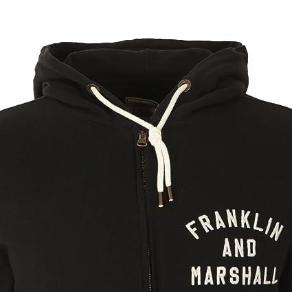 Franklin & Marshall - Chándal - para hombre negro negro S: Amazon ...