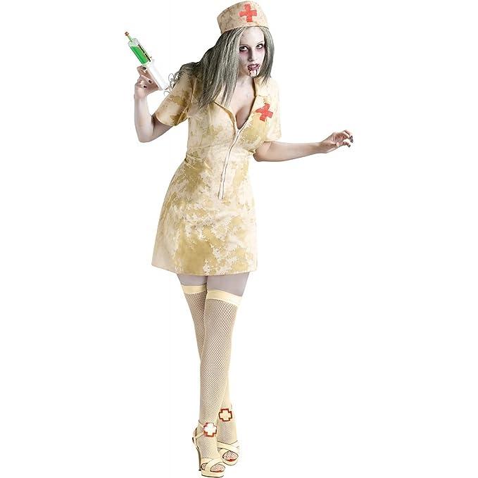 a759b48fa103f Amazon.com: Fun World Sexy Zombie Nurse Costume: Toys & Games