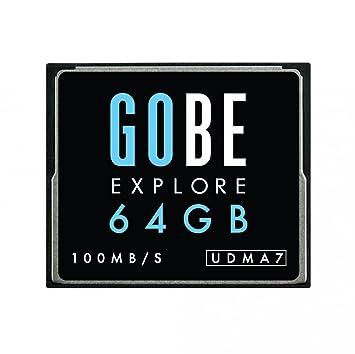 Gobe Explore 64GB CF 100MB/s UDMA7 Tarjeta de Memoria ...