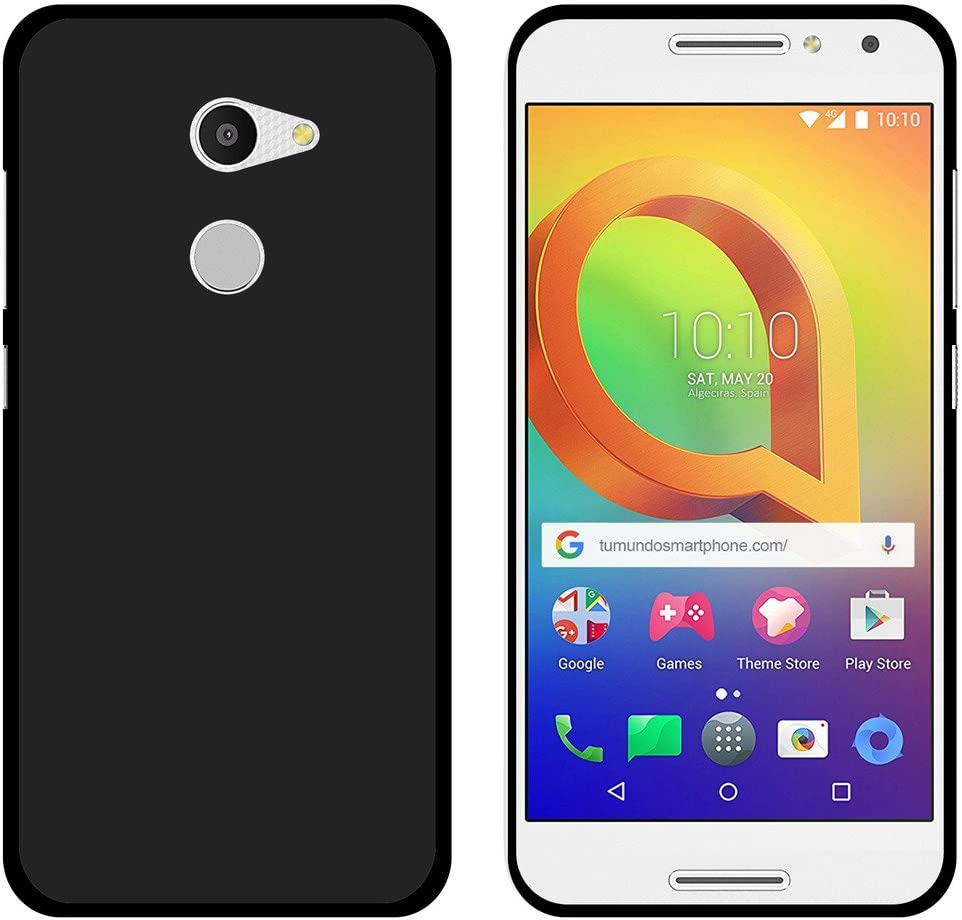 Tumundosmartphone Funda Gel TPU para ALCATEL A3 (4G) Color Negra ...