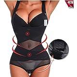 12746e3313e Evenriver Women s Body Shaper Thong High Waist Trainer Control Tummy Weight  Loss Shapewear Bodysuit