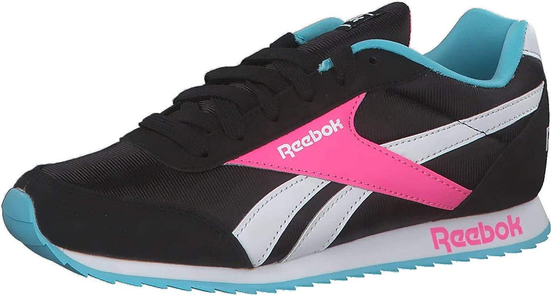 Reebok Royal Cljog 2, Basket Femme Multicolore Noir Neoblu Rossol