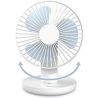 SMARTDEVIL Portable Desk Fan, Lower Noise, USB Rechargeable Battery Operated Fan with Multiple Speeds, 3000Mah Battery…