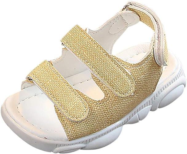 Chaussures B/éb/é Filles et B/éb/é Gar/çon Ete WINJIN Chaussures de Plage Sandales Tongs Mixte Enfant Sandales Bout Ouvert Fille Summer Beach Shoes Comfortable pour 1-10 Ans Enfant
