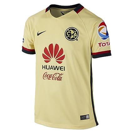 677a5b5d2 Amazon.com   Nike Boys Club America Home Stadium Jersey  Lemon ...