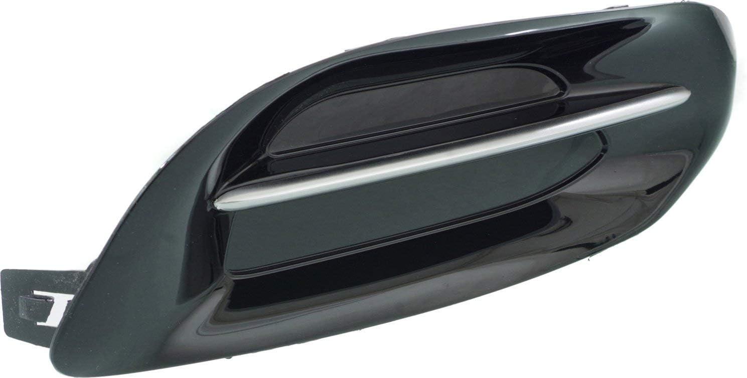 Plastic For Dart 13-16 Textured Black Passenger Side Fog Light Cover