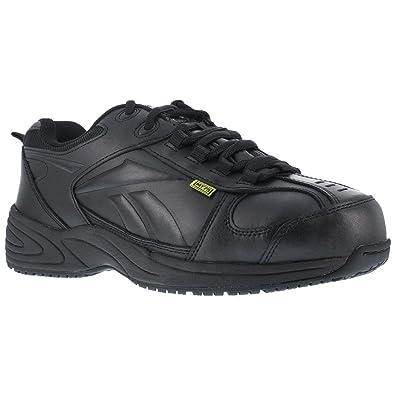0289bc79b2c1be Reebok Women s Centose Metguard Work Shoes Composite Toe Black 6.5 D(M) US