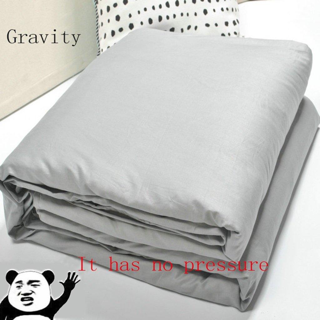 GYP 体重ブランケット、大人または子供の重い毛布、速く、より良い睡眠、不安、自閉症、感覚障害、睡眠障害、様々なサイズ、2色から選択する3つのサイズ ( 色 : #1 , サイズ さいず : A-2.3kg )   B077YYGZST