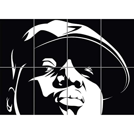 BIGGIE SMALLS NOTORIOUS BIG RAPPER HIP HOP GIANT POSTER PLAKAT DRUCK ART PRINT B1214