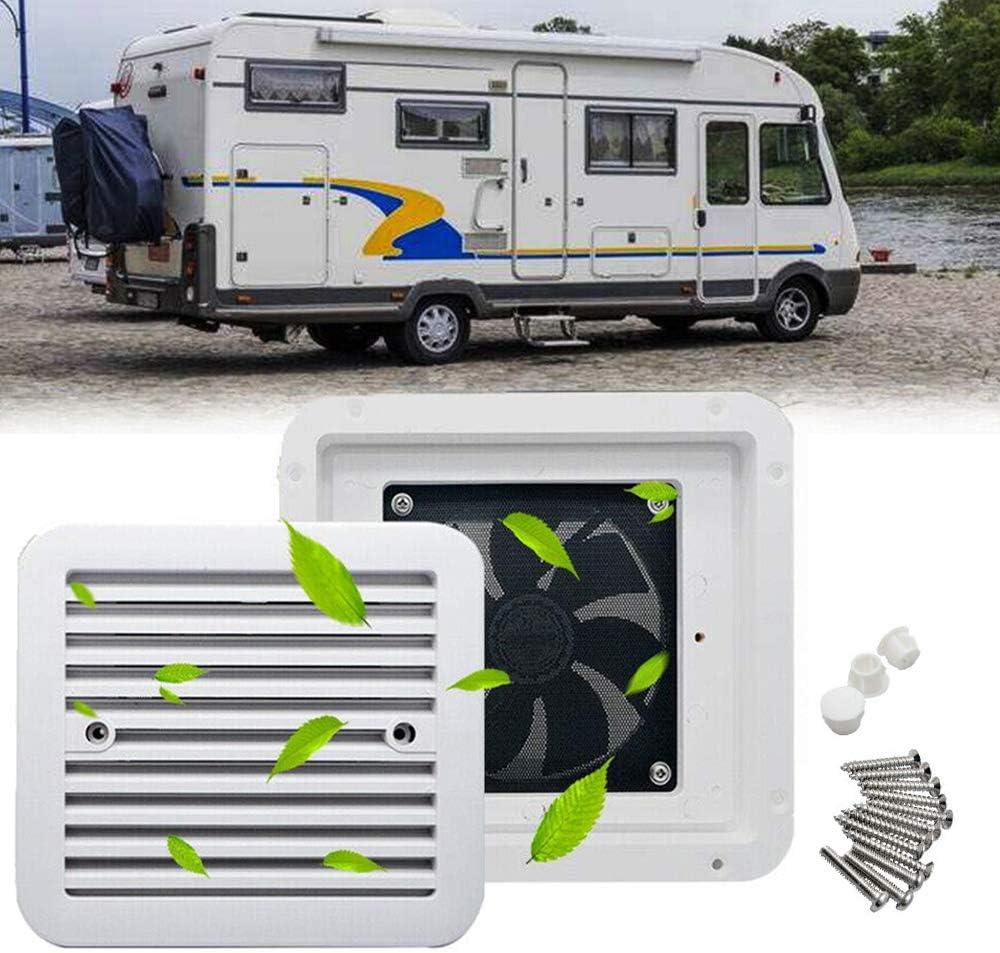 Maso - Ventilador de autocaravana para refrigeración, 12 V ...