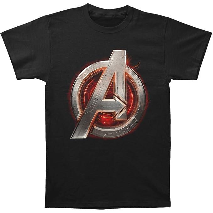9b8c2febd5984 Auténtico Marvel Avengers Edad de Ultron montar Slim Fit - Camiseta de manga  corta S-2 X L Nuevo  Amazon.es  Ropa y accesorios
