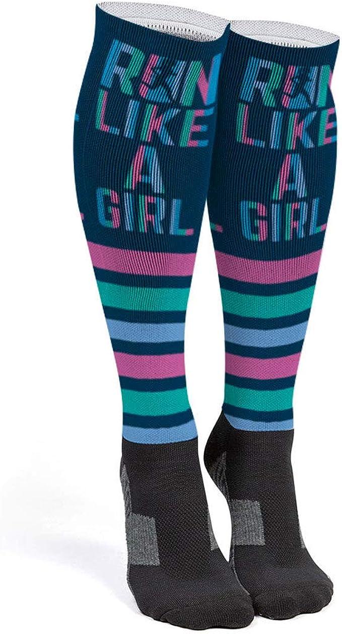 Womens Knee High Socks Best For Running 2 Pairs Ghost Long Socks For Women