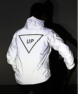 dae6aca26ac 2018 Men Women 3M Reflective Jacket Casual Hiphop Windbreaker Night ...