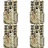 Moultrie A-5 Gen 2 14 MP Infrared Digital Game Trail Hunting Camera (4 Pack)