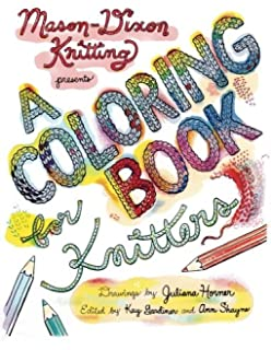 a coloring book for knitters - Coloring Book Yarns