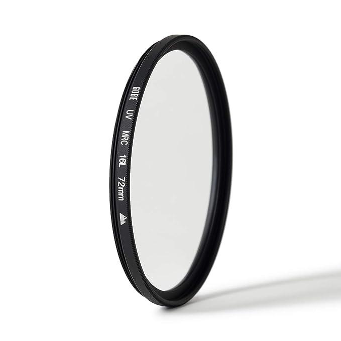 Gobe - Filtro UV para Objetivo 72 mm (2Peak)