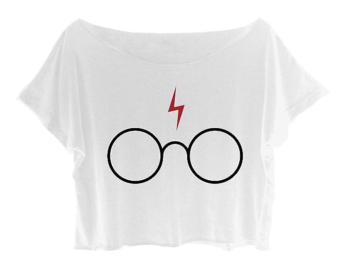 Asa Top para mujer camiseta de Harry Potter Magic camiseta de Harry Potter: Amazon.es: Ropa y accesorios