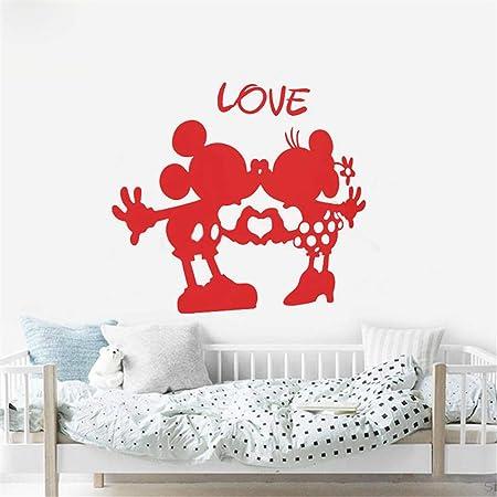 pegatina de pared 3d Mickey Mouse Etiqueta de La Pared Decal ...