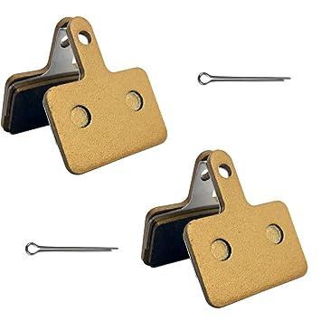 2 Pairs Bike Disc Brake Pads for Shimano DEORE M465 M445 M525 M495 M05S XTR SLX