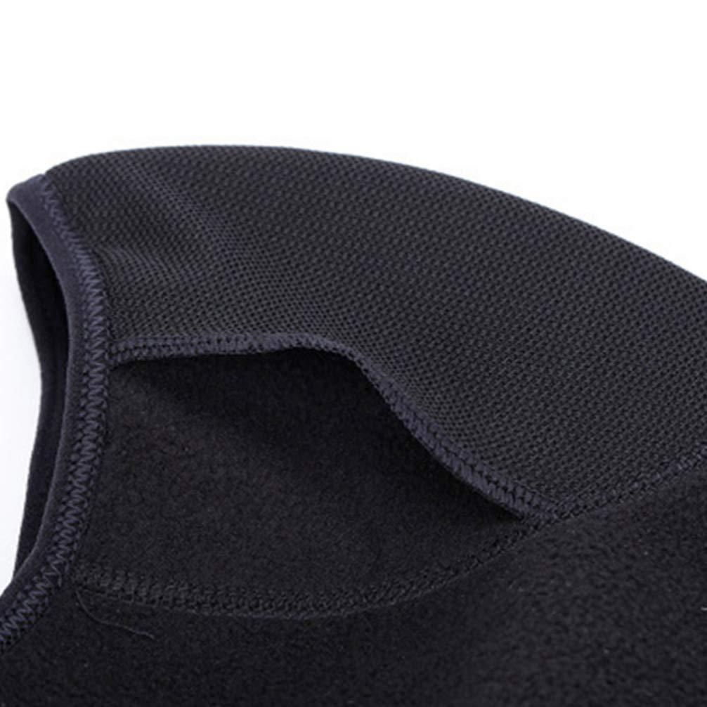 LIOOBO 1 unid m/áscara Transpirable Resistente al Viento Casco de Moto Casco de Secado r/ápido Casco t/áctico Capucha para Snowboard Running Entrenamiento t/áctico Negro tama/ño Libre