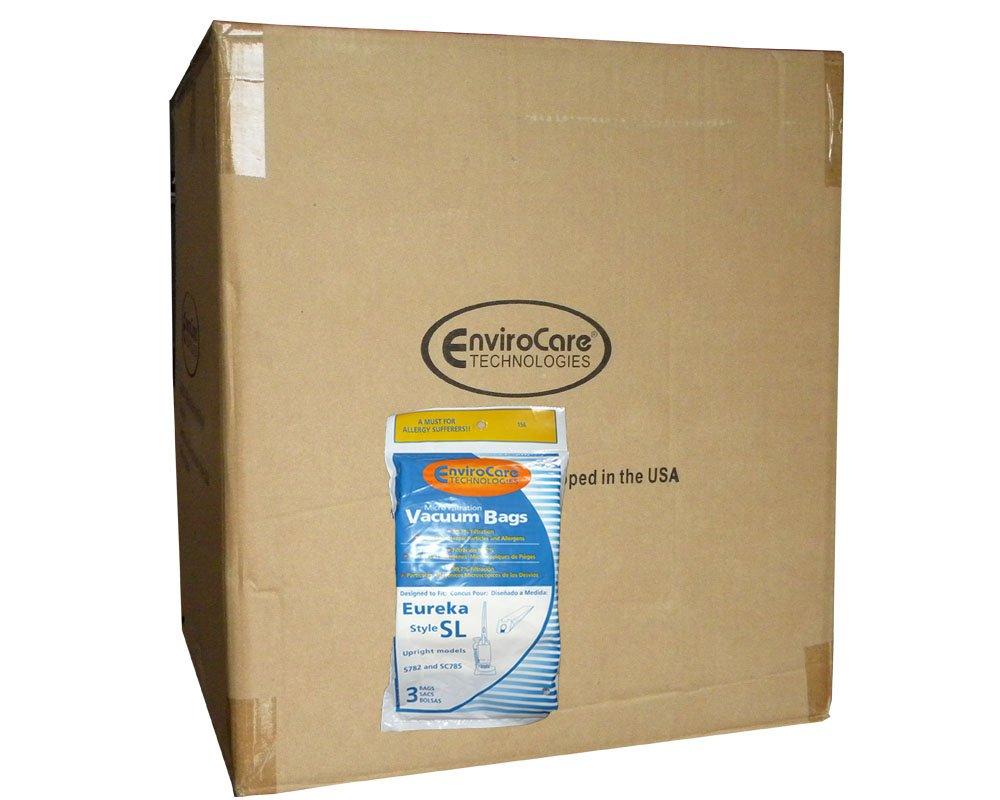 150 Eureka Sanitaire Type SL Vacuum Bag, Commercial Mini Upright Vacuum Cleaners, S782, SC785, S782A, S782A-1, SC785A-1, SC785A, 61125-12, 61125-50, 61125, SC785A