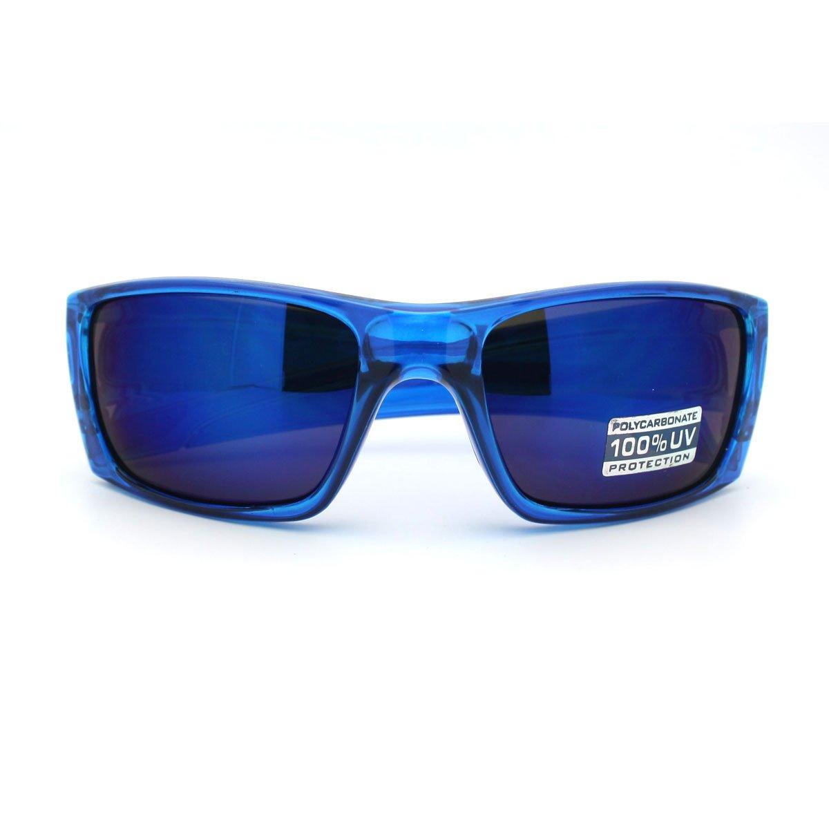 Designer Sunglasses Outdoor Sports Rectangular Wrap Fashion Multicolor Lens