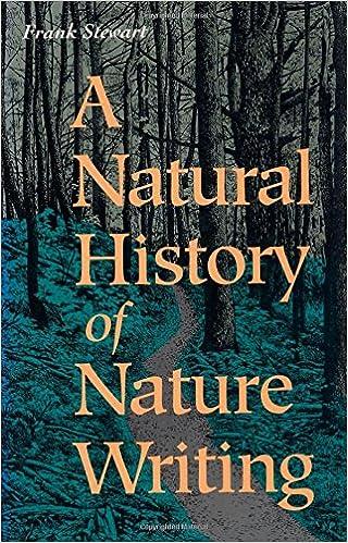 Natural History of Nature Writing