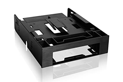 Icy Dock Dual 2.5 Ssd 1 X 3.5 Hdd Device Bay To 5.25 Drive Bay Converter//Mountin