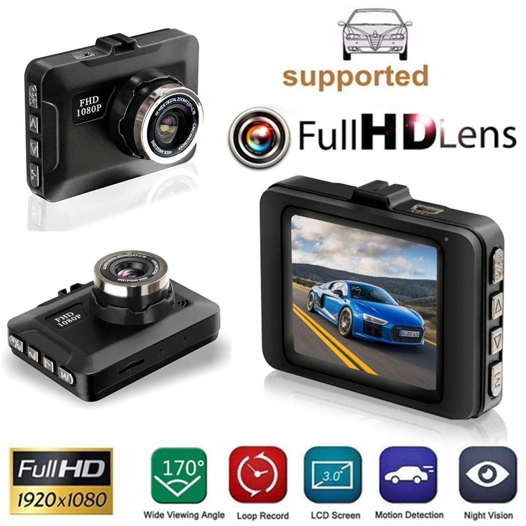Atmeyol HD 1080P Multi-function Mini Driving Recorder 2.2 inch Display Screen On-Dash Video by Atmeyol_Car Electronics (Image #2)